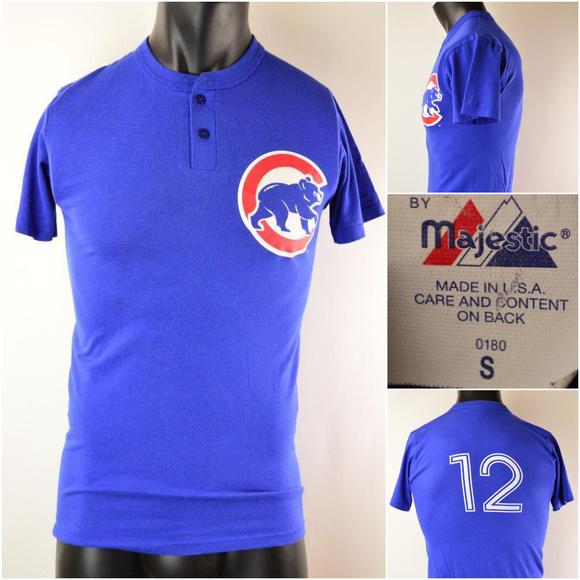 6f2d851da Majestic Other - Chicago Cubs  12 Kyle Schwarber T-shirt Sz Sm (D9